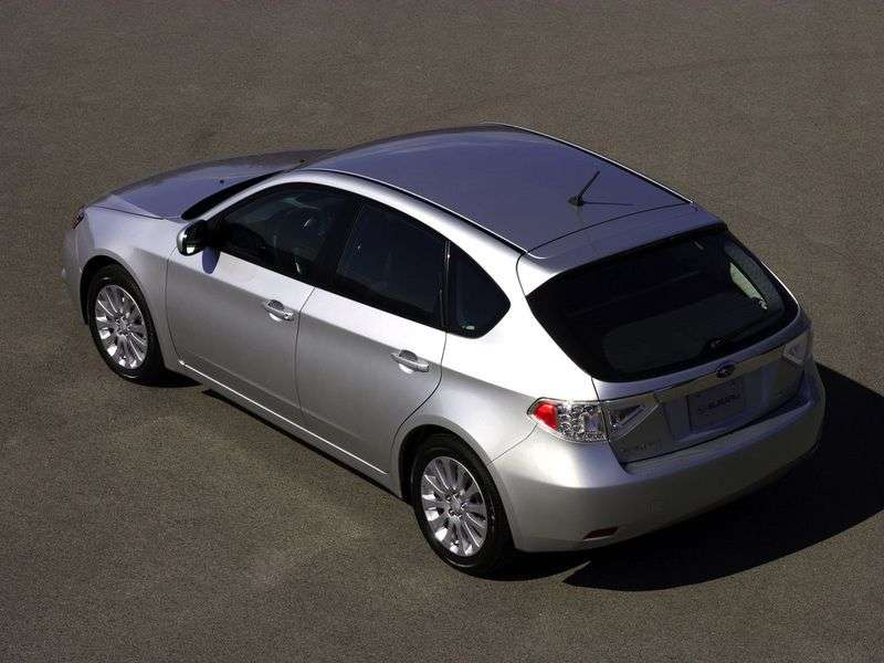 Subaru Impreza 3 generation hatchback 5 dv. 1.5 AT AWD (2007–2010)