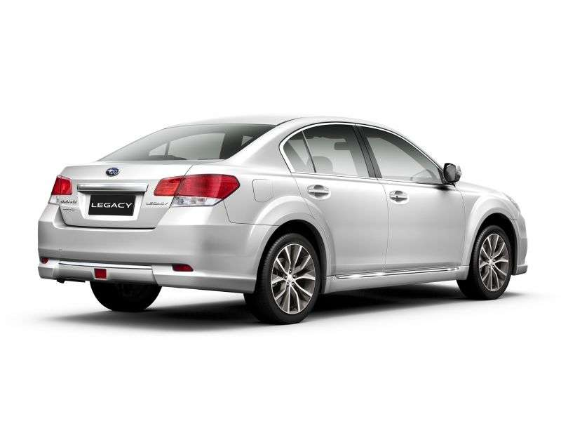 Subaru Legacy 5th generation [restyling] 2.5 AWD Lineartronic OE sedan (2012 – n.)