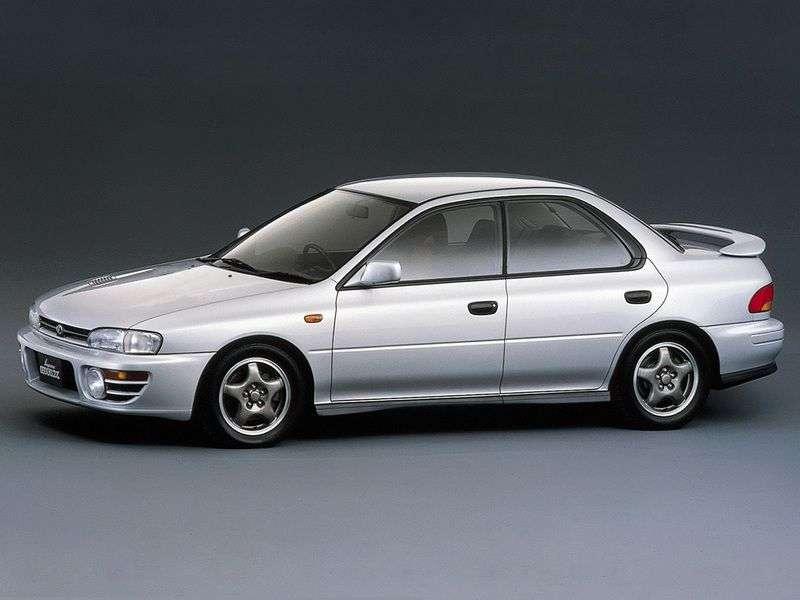Subaru Impreza 1.generacja [zmiana stylizacji] sedan 2.0 Turbo MT 4WD (1998 2000)