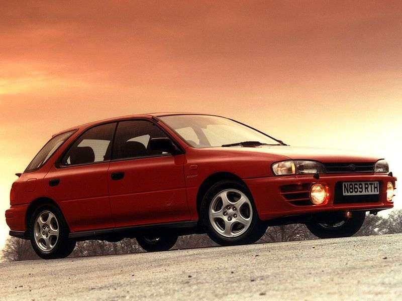Subaru Impreza 1st generation wagon 1.5 MT (1994–2000)