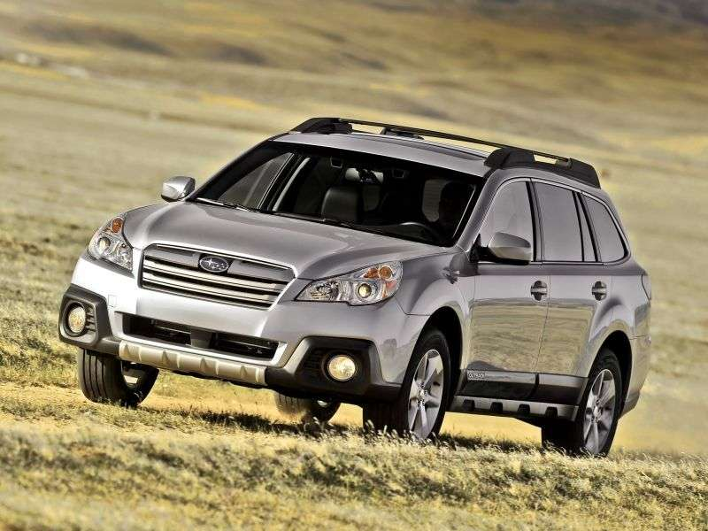 Subaru Outback 4 generation [restyling] station wagon 3.6 E 5AT AWD YC (2013) (2012 – n.)