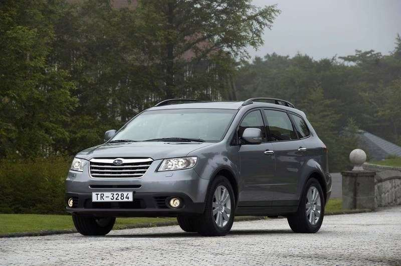 Subaru Tribeca 1st generation [restyling] crossover 3.6 AT AWD DJ (2011) (2008 – current century)