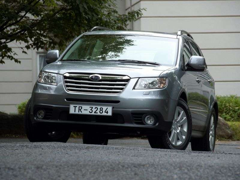 Subaru Tribeca 1st generation [restyling] crossover 3.6 AT AWD UJ (2011)   7 seater (2008 – to. In.)
