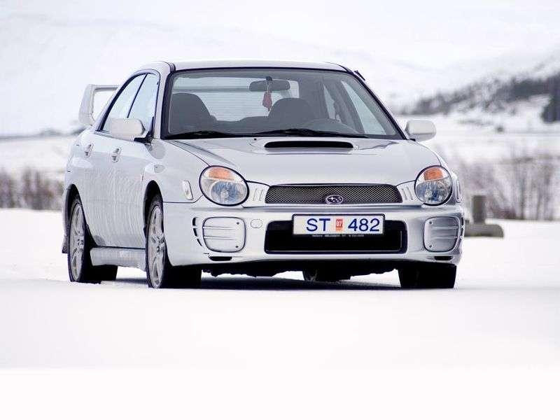 Subaru Impreza 2 generacji WRX sedan 2.0 STi AWD MT (2001 2002)