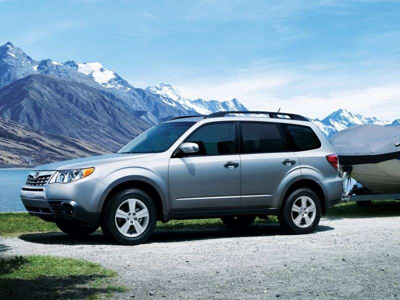 Subaru Forester 3rd generation [restyling] crossover 2.0X E 4AT AWD 2M (2012) (2011–2013)