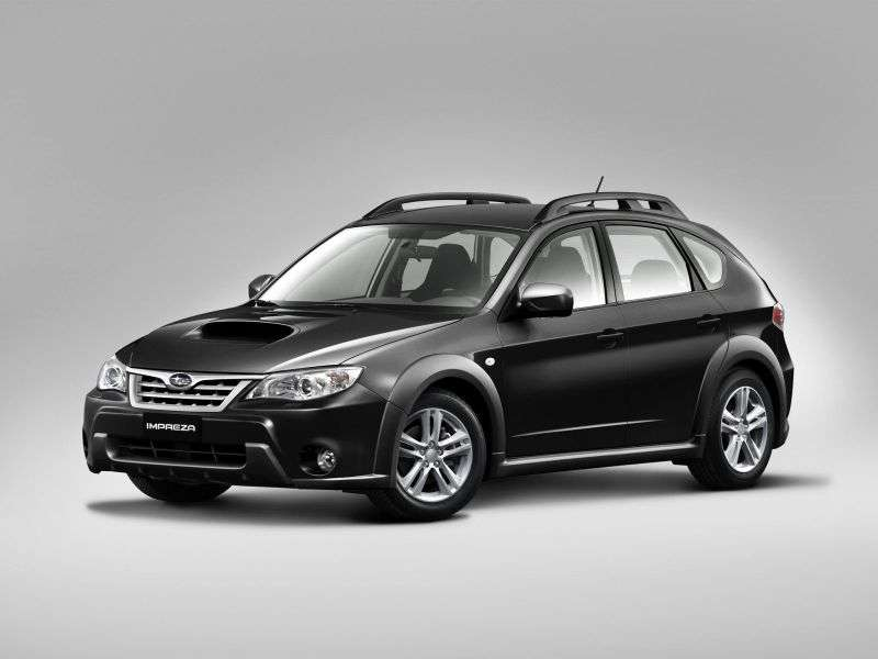 Subaru Impreza 3rd generation XV hatchback 5 bit. 2.0 E 4AT AWD 1J (1J,)