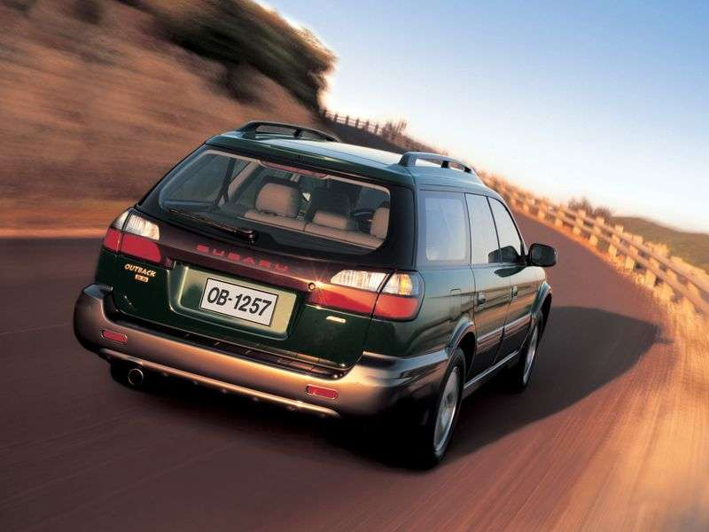 Subaru Outback 2nd generation wagon 2.5 MT 4WD (1999–2003)
