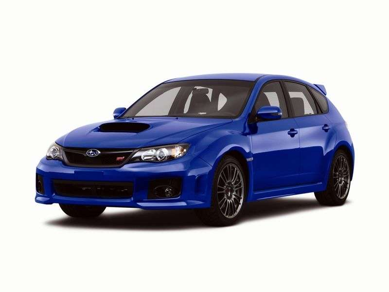 Subaru Impreza 3 generation [restyling] WRX STI 5 doors hatchback. 2.5 MT AWD turbo EA (2012) (2010 – n. In.)