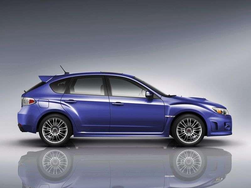 Subaru Impreza 3 generation [restyling] WRX STI 5 doors hatchback. 2.5 MT AWD turbo EA (2011) (2010 – n. In.)