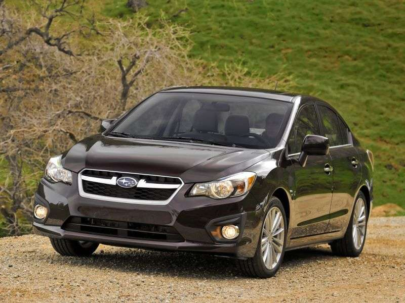 Subaru Impreza 4th generation sedan 1.6i CVT AL (2012 – now.)