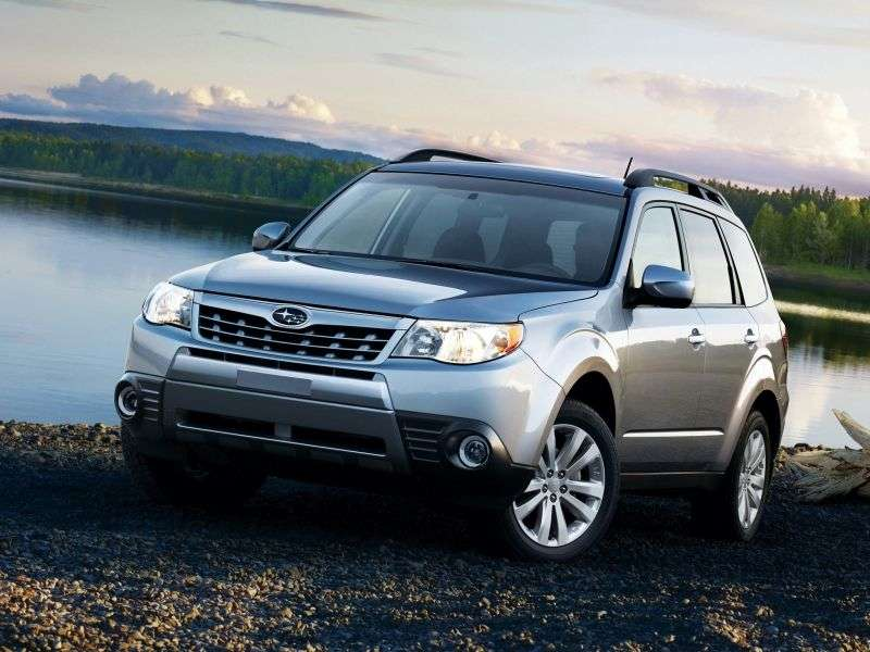 Subaru Forester 3rd generation [restyling] crossover 2.0XS E 4AT AWD YV (2011) (2011–2013)