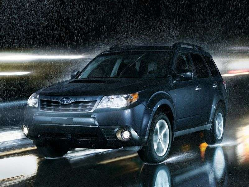 Subaru Forester 3rd generation [restyling] 2.5XT MT crossover AWD Turbo TU (2012) (2011–2013)
