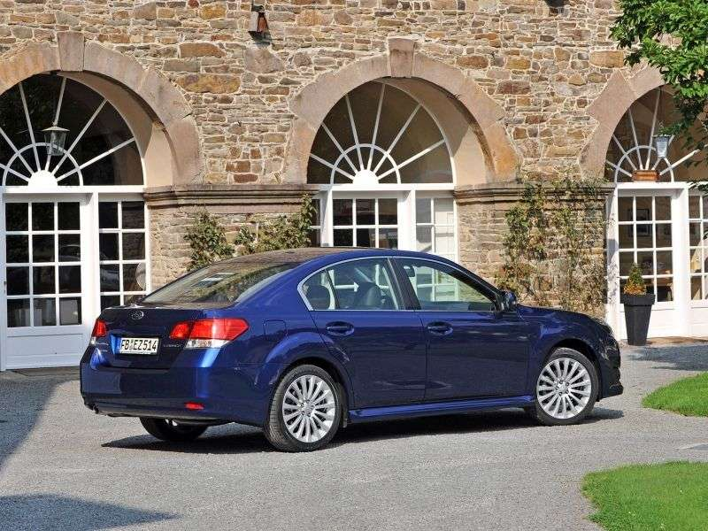 Subaru Legacy 5 generation sedan 2.0 MT AWD UC (2012) (2009 – n.)