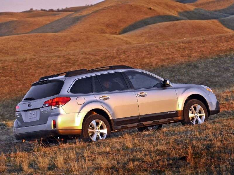 Subaru Outback 4 generation [restyling] wagon 2.5 MT AWD (2012 – n.)