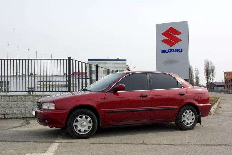 Suzuki Baleno 1st generation 1.3 MT sedan (1995–2002)