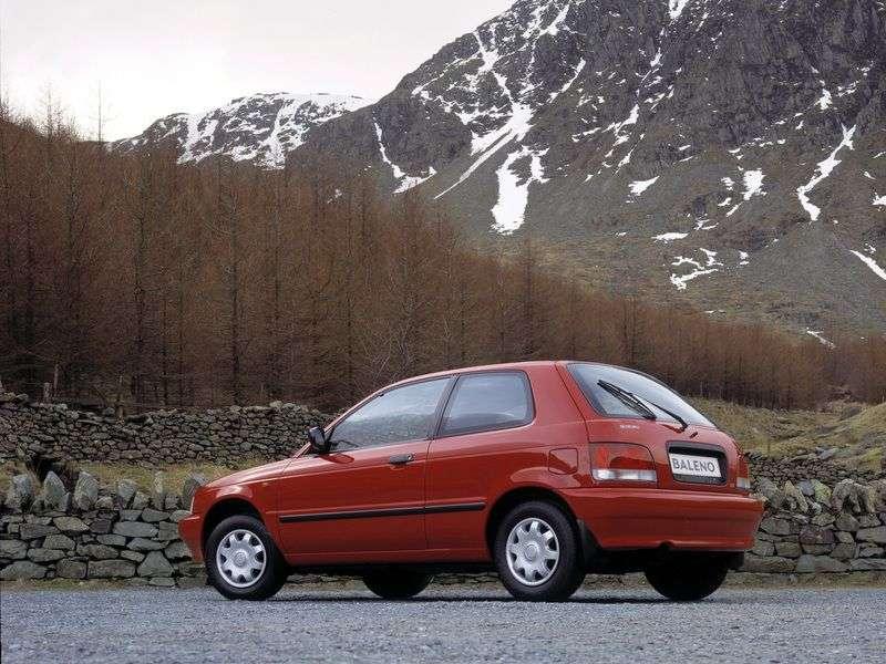 Suzuki Baleno 1st generation hatchback 1.9 TD MT (1998–2002)