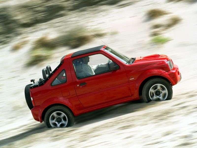 Suzuki Jimny 3 generacji kabriolet 1.3 MT (1999 2005)