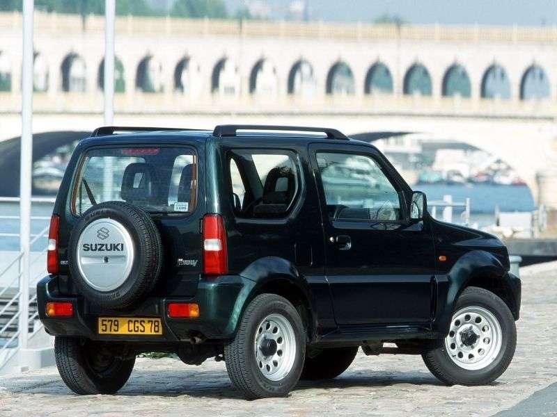 Suzuki Jimny 3rd generation SUV 0.7 MT (1998–2005)