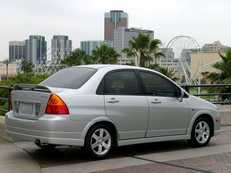 Suzuki Aerio 1st generation [restyled] 2.3 MT sedan (2004–2007)