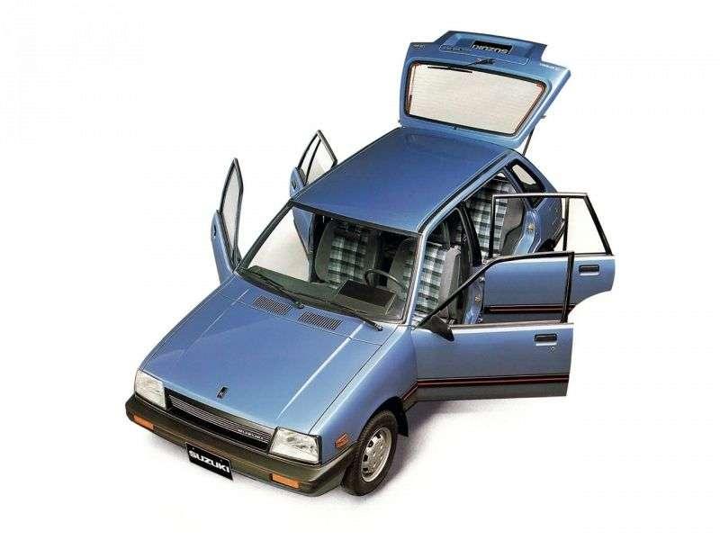 Suzuki Swift 1st generation hatchback 5 dv. 1.3 AT (1984 1986)