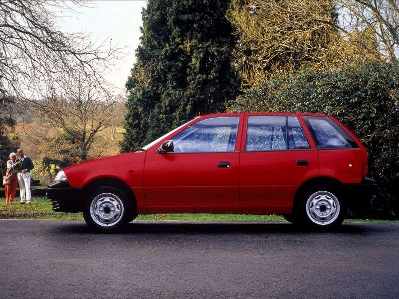 Suzuki Swift 2 generation hatchback 5 dv. 1.3 MT (1990–1995)