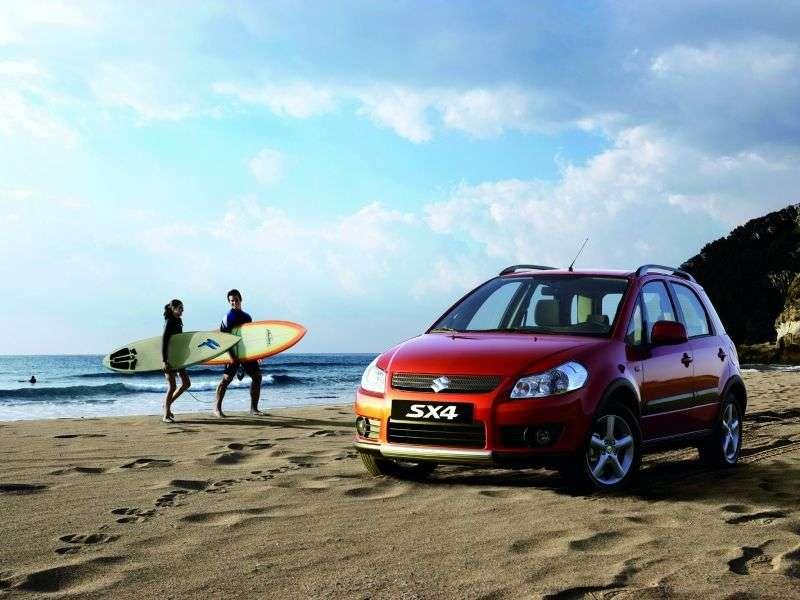 Suzuki SX4 1st generation 1.6 MT hatchback (2006–2010)