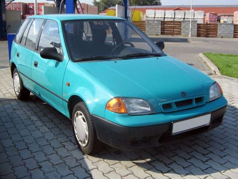 Suzuki Swift 2nd generation [restyling] 5 bit hatchback 1.3 AT (1996–2004)