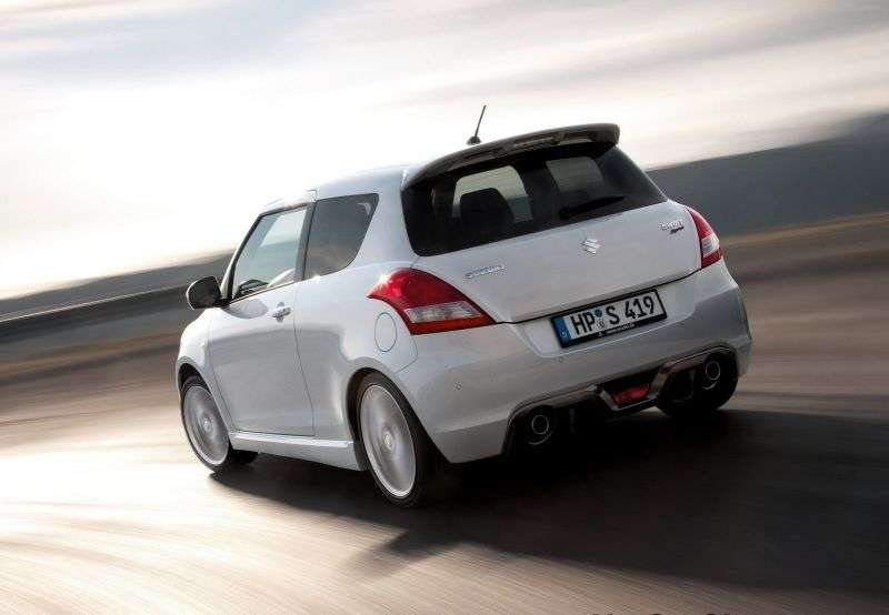 Suzuki Swift 4th generation Sport hatchback 3 dv. 1.6 MT (2012 – n. In.)