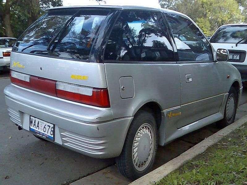 Suzuki Swift 2 generation hatchback 3 dv. 1.0 MT (1991–1995)