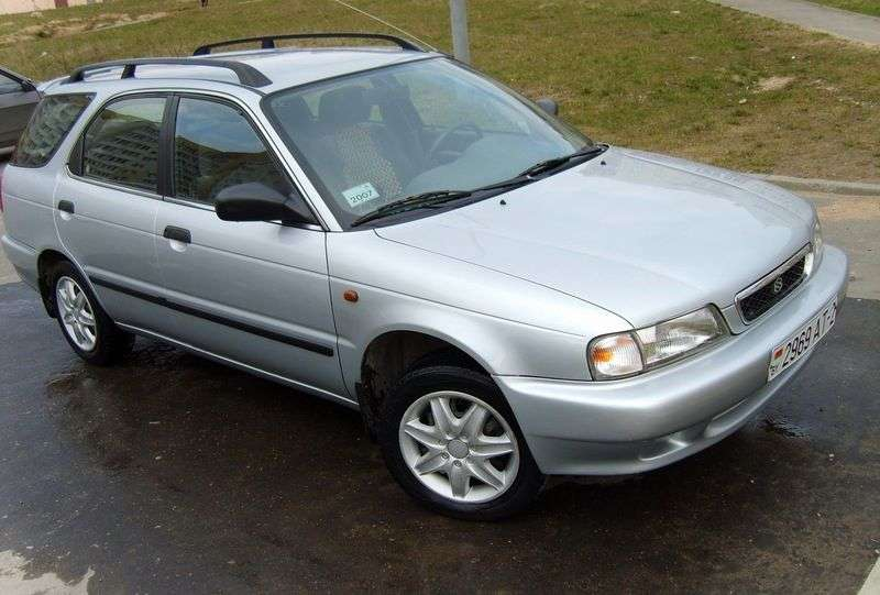 Suzuki Baleno 1st generation wagon 1.9 TD MT (1998–2002)