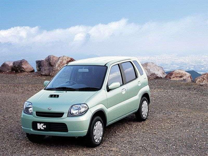 Suzuki Kei HNetchback 0.7 MT (1998–2009)