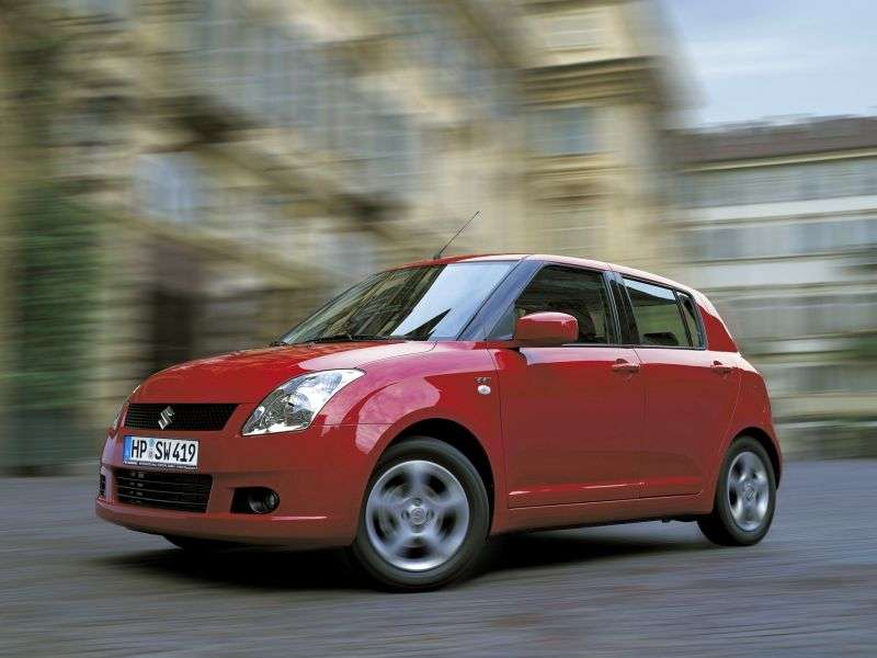 Suzuki Swift 3rd generation hatchback 5 dv. 1.5 AT (2005–2010)