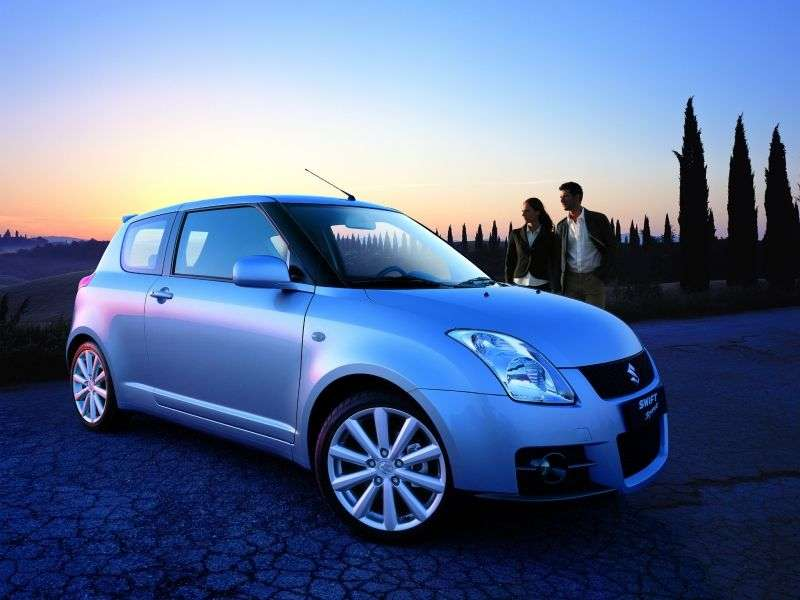 Suzuki Swift 3 generation Sport hatchback 3 dv. 1.6 MT (2005–2010)