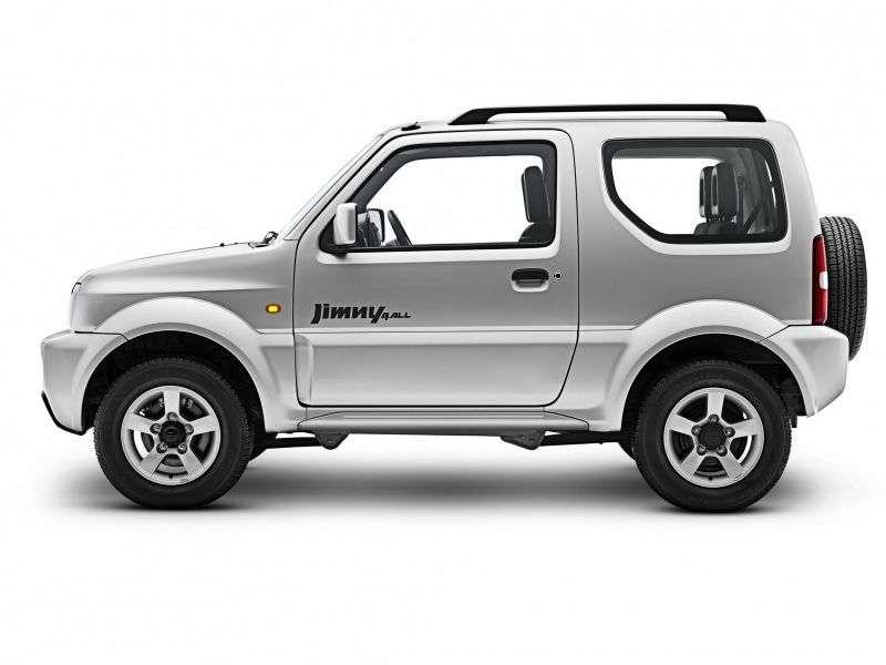 Suzuki Jimny 3rd generation [restyling] 3 dv SUV 1.3 MT 4WD JLX (2012) (2005–2012)