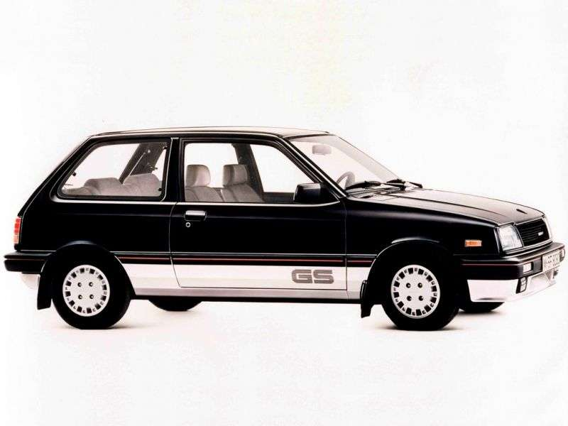 Suzuki Swift 1st generation hatchback 3 dv. 1.0 AT (1984–1986)