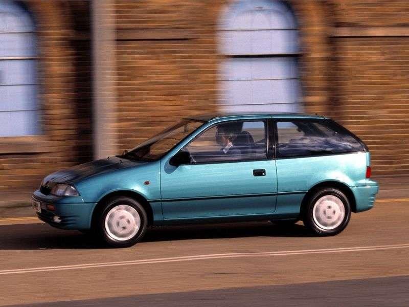 Suzuki Swift 2 generation hatchback 3 dv. 1.3 MT (1990–1995)