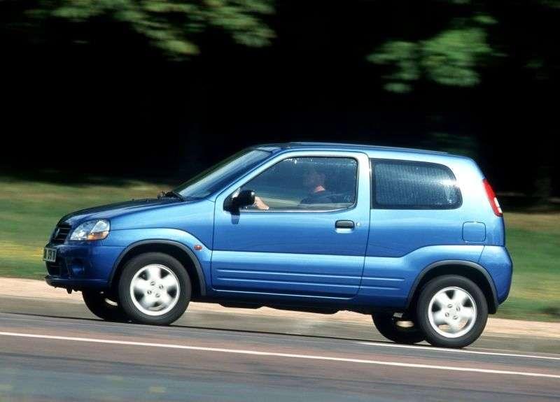 Suzuki Ignis 1st generation hatchback 3 dv. 1.3 MT (2001–2003)