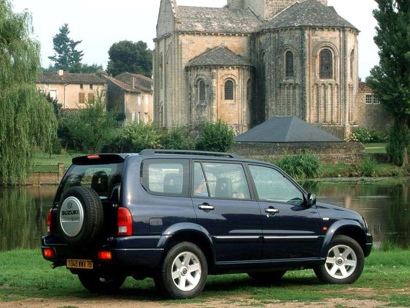 Suzuki Grand Vitara 1st generation crossover 2.7 AT XL 7 (2001–2003)