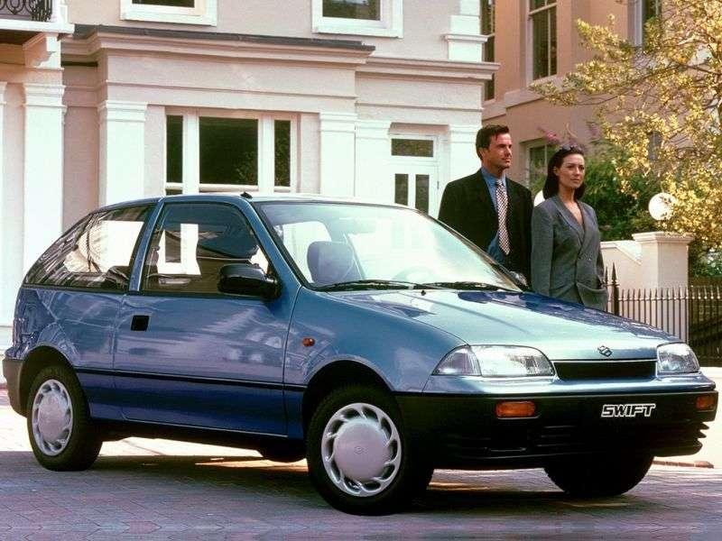 Suzuki Swift 2 generation hatchback 3 dv. 1.3 GTI MT (1991–1995)