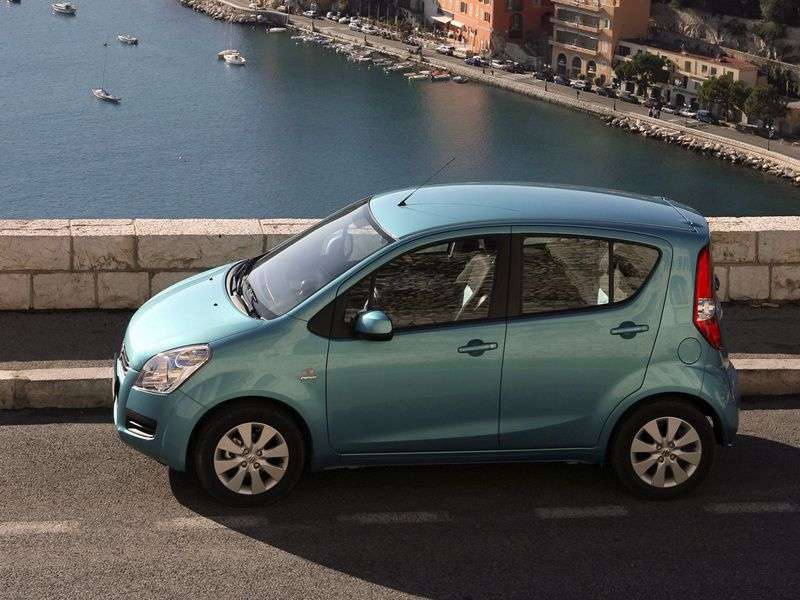 Suzuki Splash 1st generation hatchback 1.2 MT GLS (2010–2012)