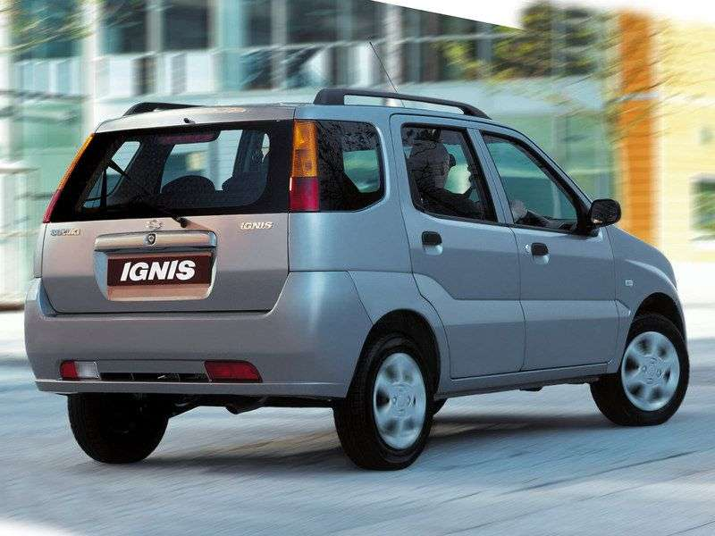 Suzuki Ignis 2nd generation hatchback 1.5 AT (2006 – n.)