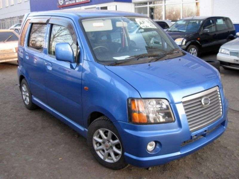 Suzuki Wagon R 2 generation [restyling] Solio minivan 1.3 AT AWD (2000–2003)