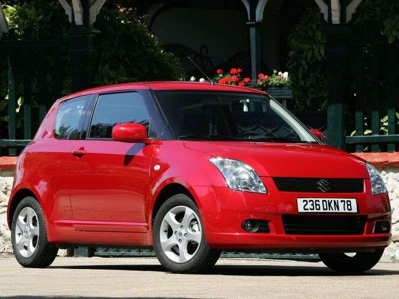 Suzuki Swift 3 generation hatchback 3 dv. 1.3 MT (2004–2010)
