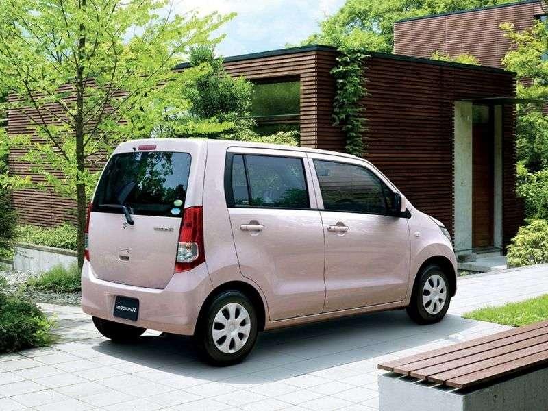 Suzuki Wagon R 4 generation minivan 0.7 CVT (2008 – n.)