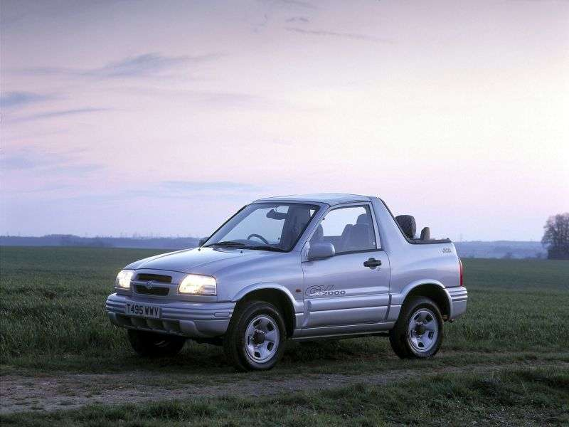 Suzuki Grand Vitara 1st generation 3 door convertible. 1.6 MT (1998–2005)