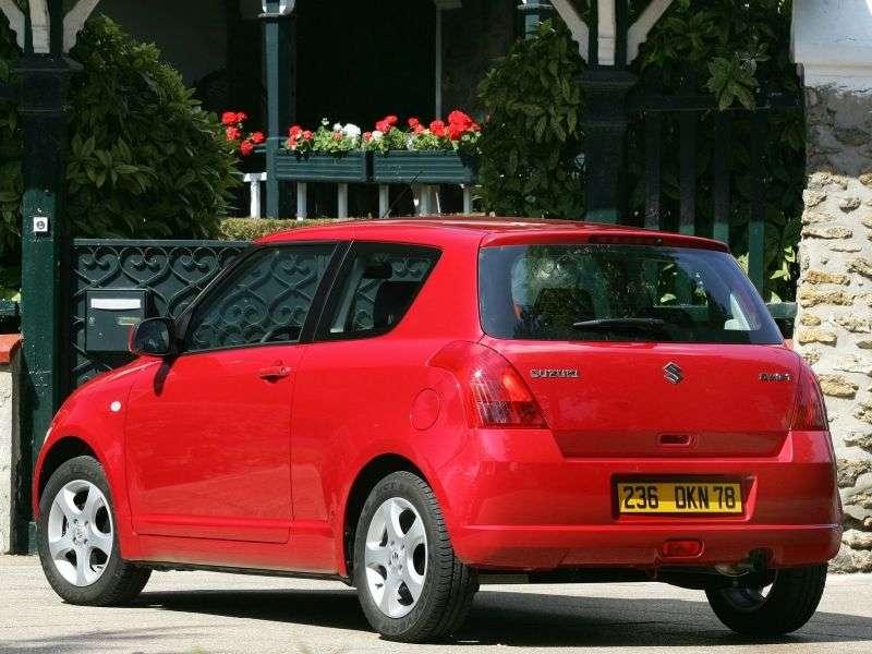 Suzuki Swift 3 generation hatchback 3 dv. 1.3 DDiS MT (2004–2010)