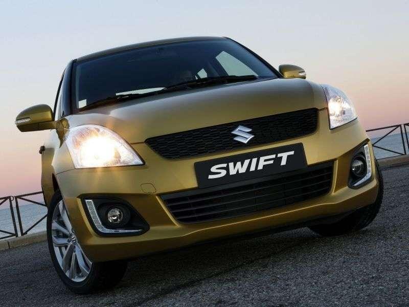 Suzuki Swift 4th generation [restyling] 5 bit hatchback 1.2 AT GLX (2013 – present)