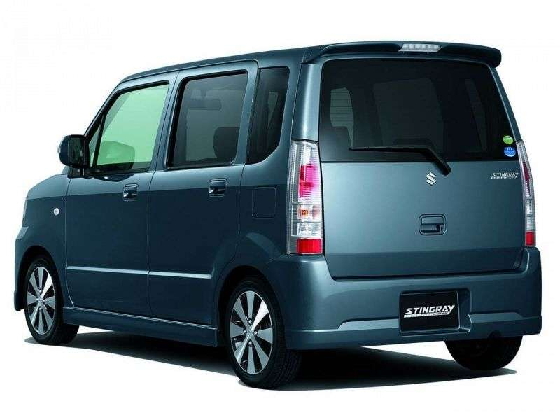 Suzuki Wagon R 3rd generation Stingray minivan 0.7 CVT AWD (2007–2008)