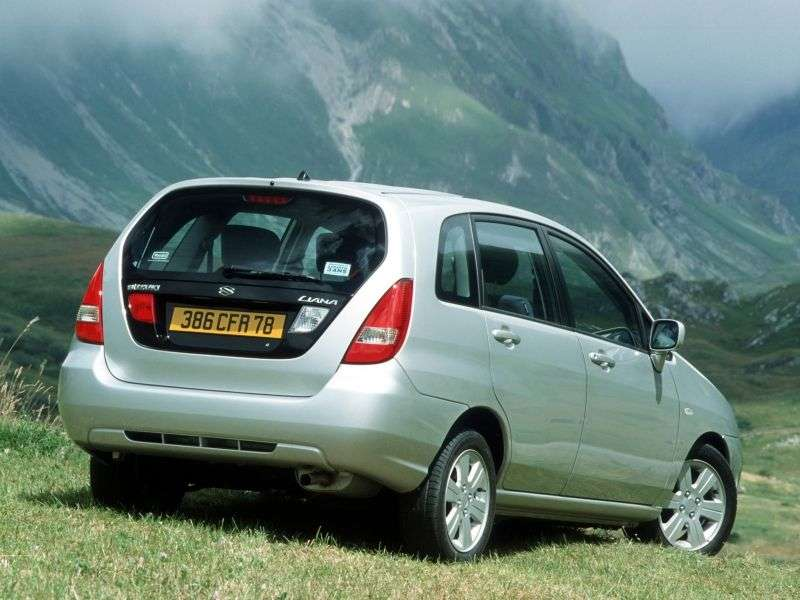 Suzuki Liana 1.generacja Estate 1.6 MT 4WD (2001 2004)
