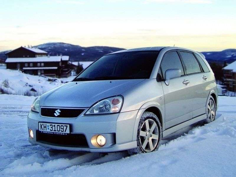 Suzuki Liana 1st generation [restyling] wagon 1.6 MT 4WD (2004–2007)